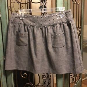 Gray skirt by Candies size 9